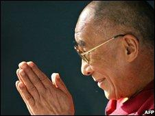 """The Dalai Lama has championed a """"middle path"""" policy with China"""