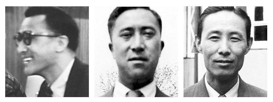 Thupten Jigme Norbu, Gyalo Thondup and Lhamo Tsering